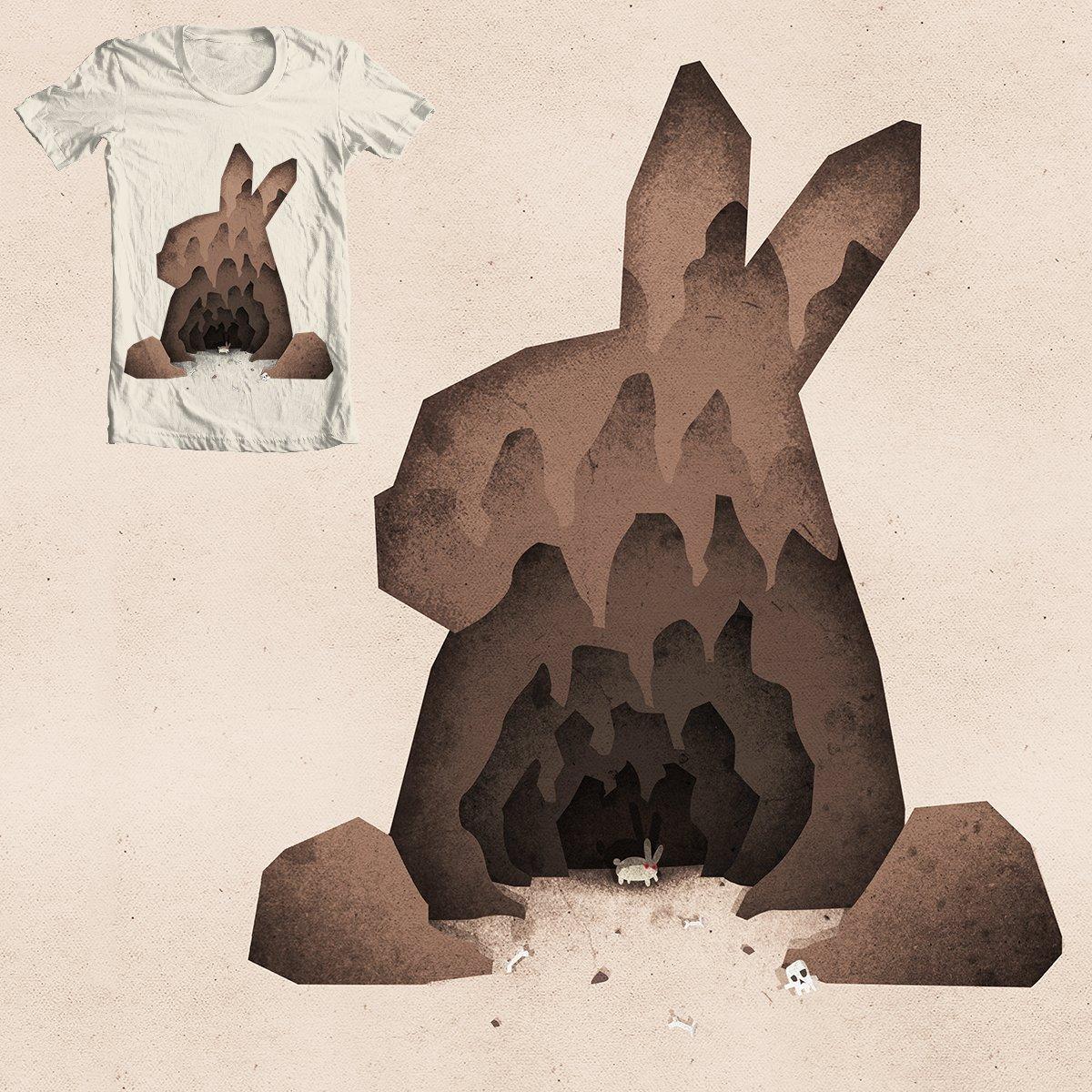 A Monty Python Inspired Illustration of the Rabbit of Caerbannog