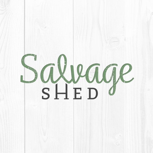 Salvage Shed website / branding